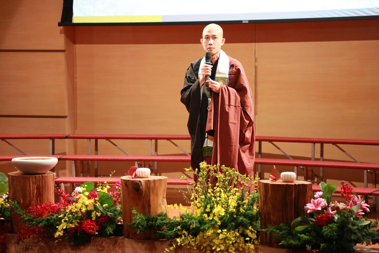 佛教學系碩士班代表致詞